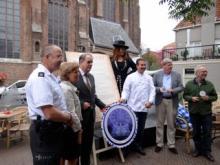 ondertekenaars convenant bij café De Oude Jan - Delft 19 juni 2014