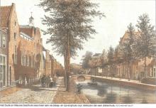 de Koornmarkt vanaf de Huyterstraat richting Lange Geer